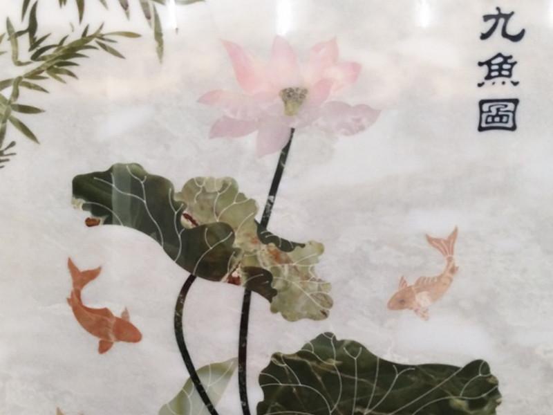 云浮山水畫背景墻廠家-玫瑰冰玉全屋定制-玫瑰冰玉家裝定制