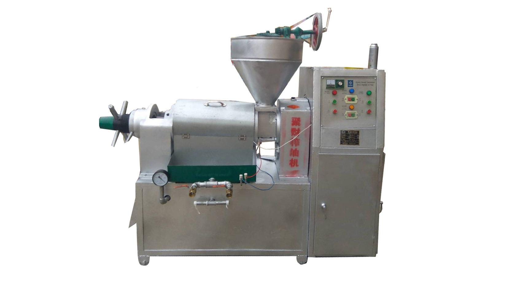 油膩榨油機低價批發_優惠的螺旋榨油機聚財豆制品成套設備供應