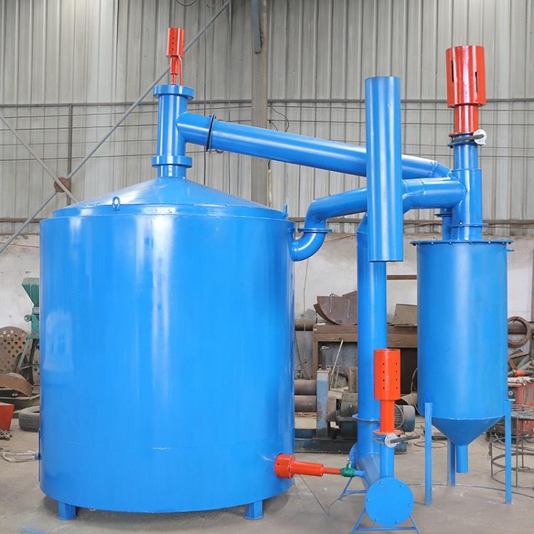 鋸末炭化爐廠家 吊裝炭化爐價格 椰殼炭化爐設備-宏基機械