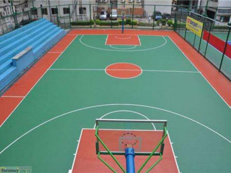 丙稀酸籃球場訂制-丙稀酸球場生產廠家找國奧