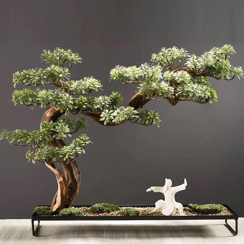 优良的仿真迎客松哪里有-安徽仿真松树