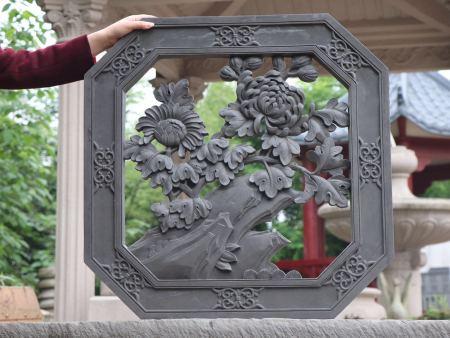 新奇特装饰不错的沈阳摆了个自认为帅气古建砖雕供应-古建砖雕哪家好