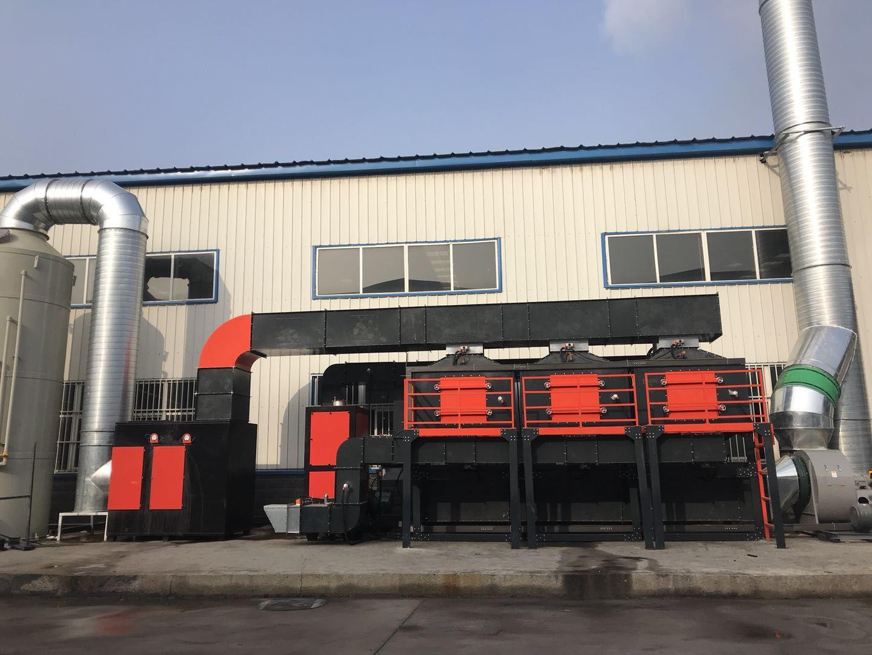 催化燃烧工业废气jing化设备-浙jiangrco催化燃烧设备