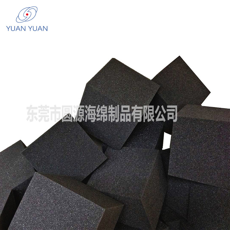 东莞厂星游2注册定制方块海绵防火海棉沙发高密度2350黑色海绵