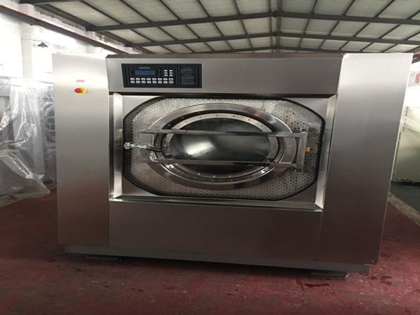 县城开个洗宾馆酒店布草床单洗涤厂需要几台设备多少钱