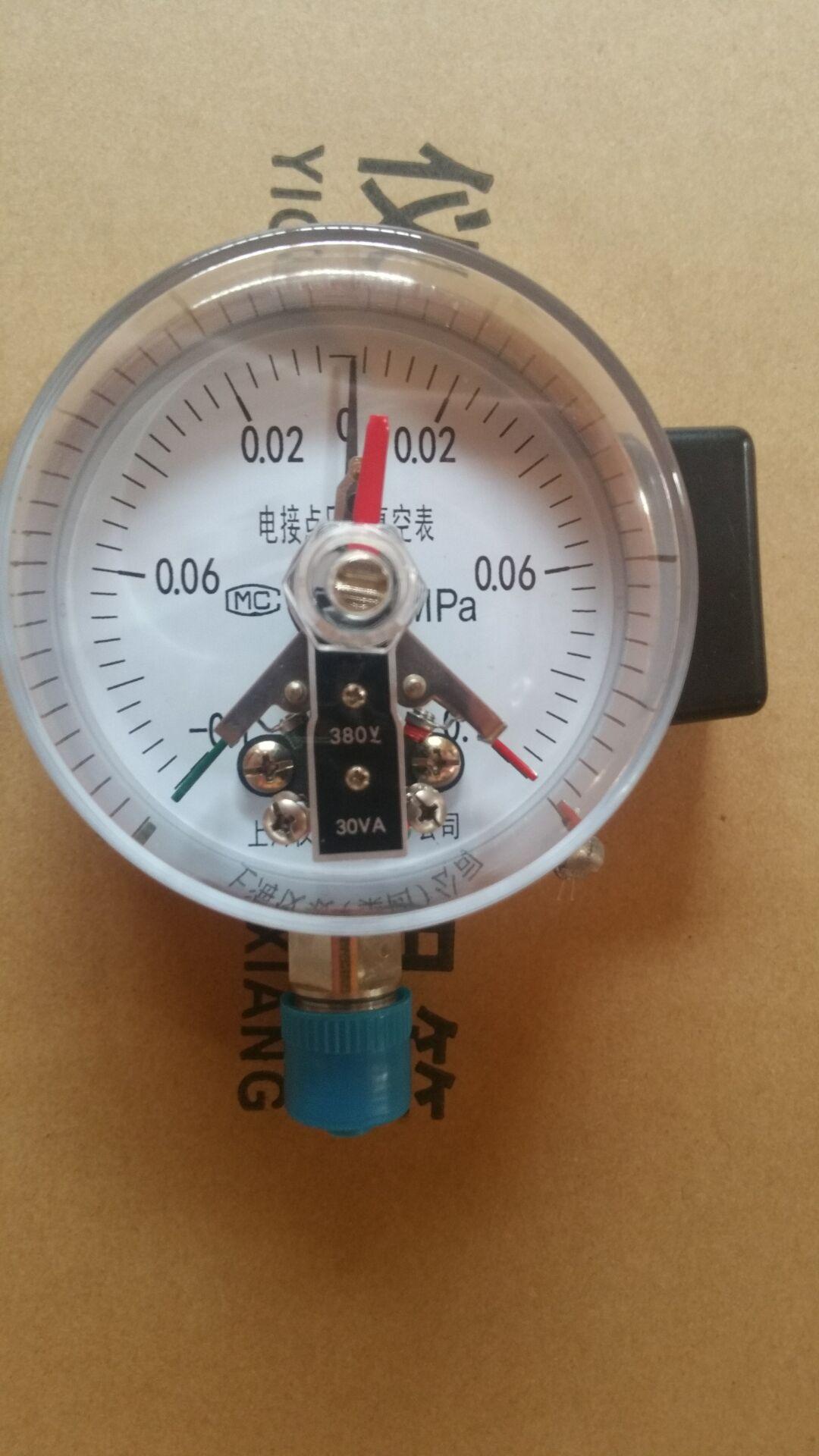 电接点压力表图解_电接点压力表资料