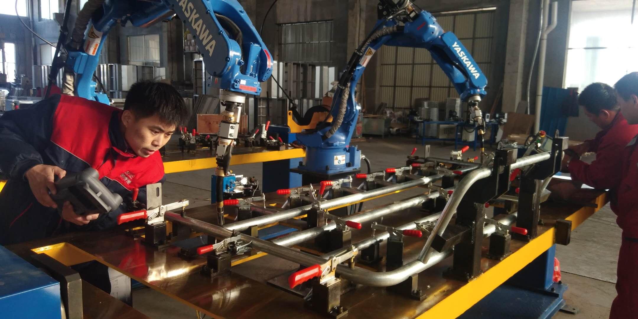 威海青岛焊接机器人-焊接机器人厂家-激光焊接机器人