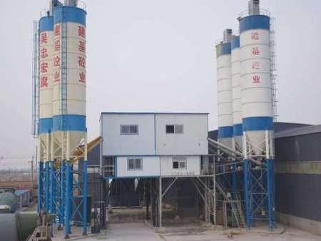 内蒙搅拌站-内蒙混凝土搅拌站生产厂家-宏旗建机
