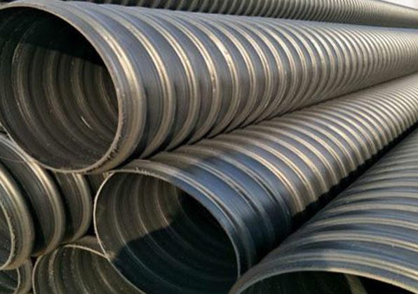 黑龙江HDPE塑钢缠绕管-牙克石PE给水管厂家