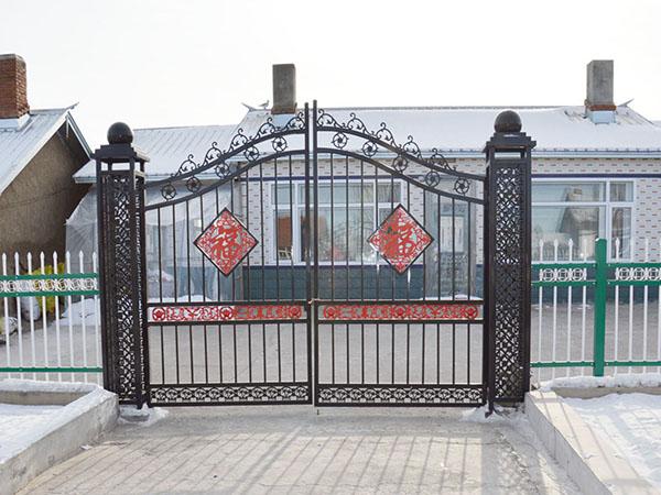 哈爾濱鐵藝大門
