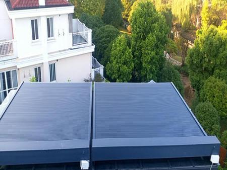 铝合金天幕遮阳生产厂家-四川铝合金天幕遮阳多少钱