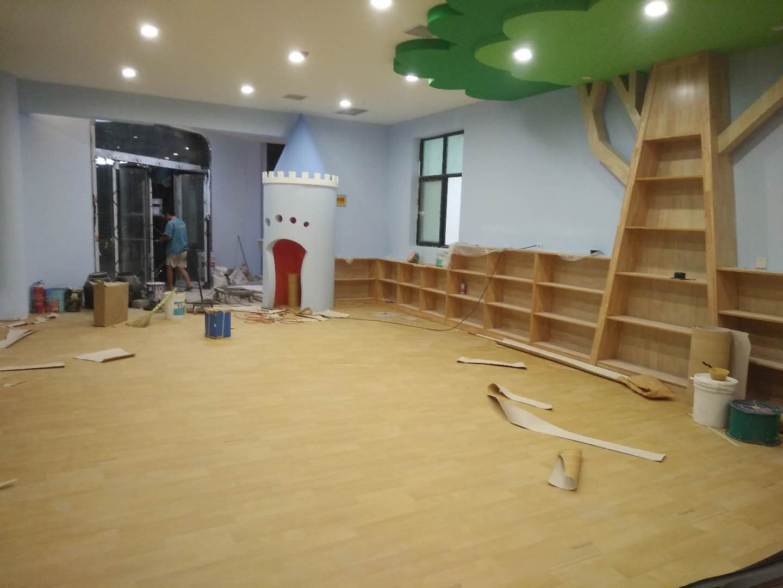 河南幼儿园塑胶地板