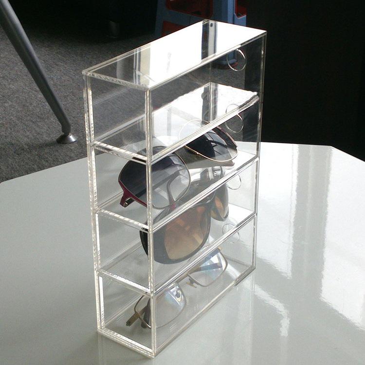 防静电周转箱隔板-健康塑料材质托盘展示-有机玻璃展示架