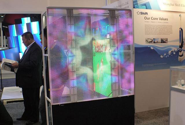 全彩LED顯示屏 室內外透明屏