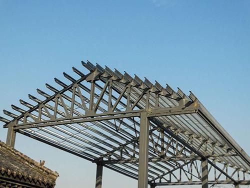 西安鋼結構定制 鋼結構建造找乾縣陽洪華運