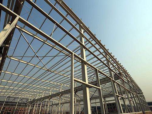 西安彩钢棚生产厂家-优良钢结构乾县阳洪华运