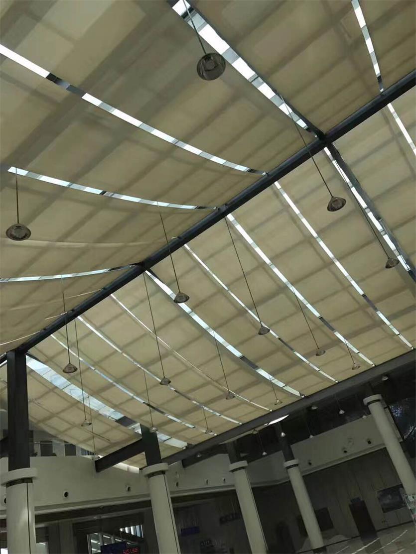 采光顶电动遮阳帘工程-采光顶电动遮阳帘6