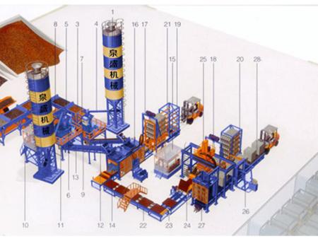 選購全自動生產線制磚機-廠家供應全自動制磚線