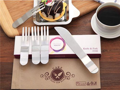 郑州不锈钢餐具-重庆一次性配送餐具-北京蛋糕刀叉