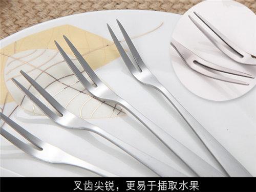 昆明不锈钢餐具批发-天津甜品叉勺定制-天津披萨铲定制