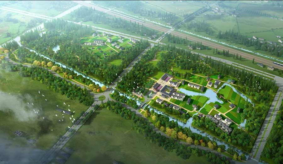 農業園林景觀設計機構渠道-綠馳園林設計有限公司提供專業的農業園林景觀設計