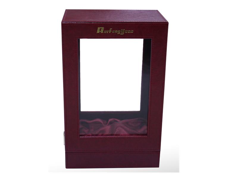 定制各类单只装木盒包PU洋酒包装礼品白酒盒