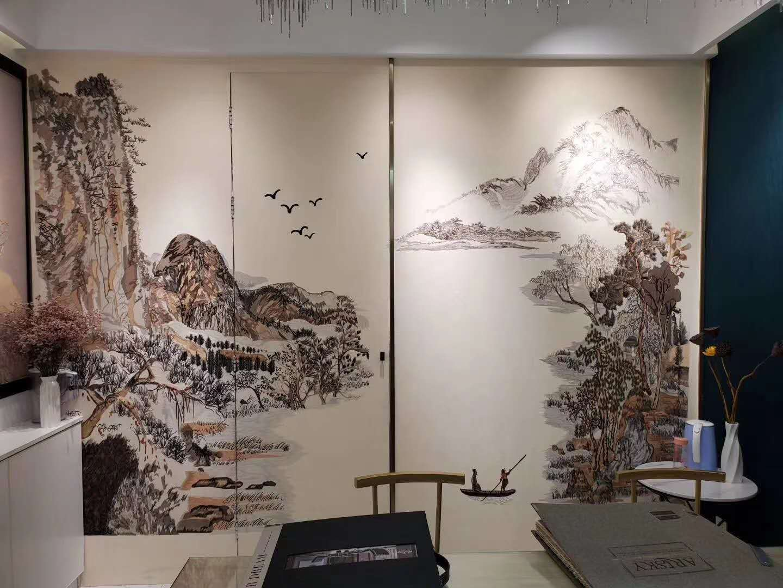 郑州哪里买有口碑的城市织锦墙布-陕西墙布厂家