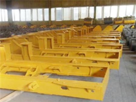 装载机车架的结构组成部分——装载机车架加工