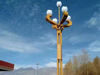 宁夏市电路灯定制-西宁庭院路灯安装-甘肃高杆灯安装