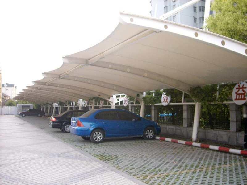 膜结构自行车棚加工-潍坊膜结构车棚-临沂膜结构车棚