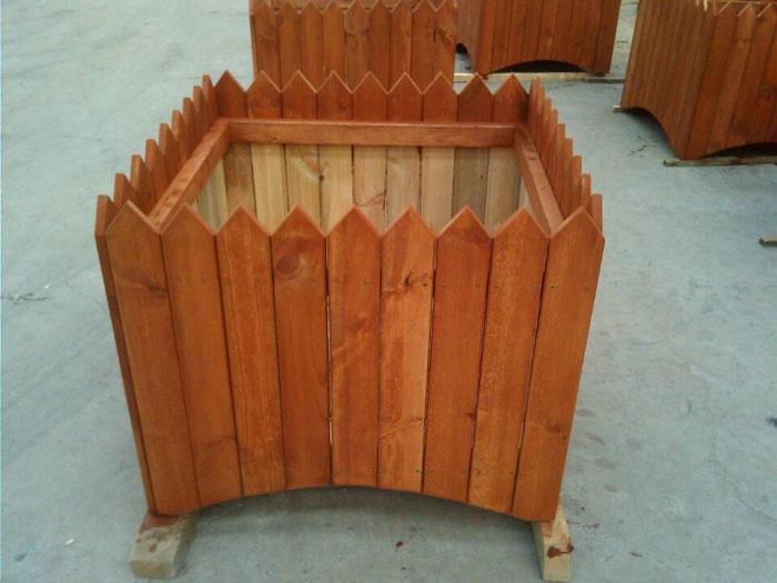 木制花箱,木制花箱生产商,防腐木花箱供应商