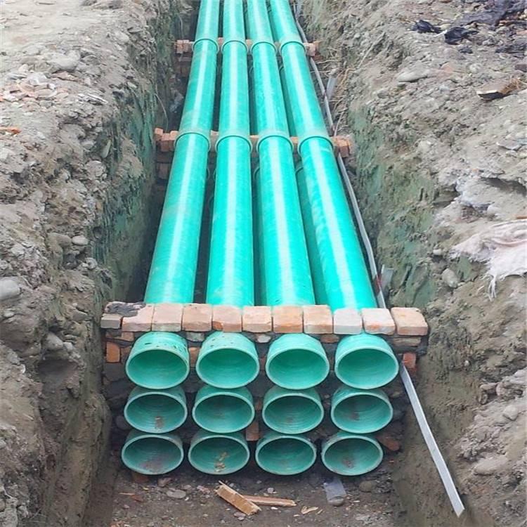 湖南玻璃钢夹砂管施工以及影响其寿命的三要素