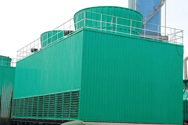 方形横流玻璃钢冷却塔||方型横流式冷却塔