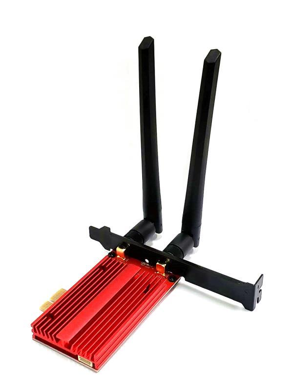 WIFI6无线网卡PCI-E台式机电竞千兆网卡