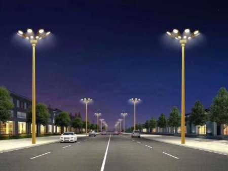 西寧草坪燈安裝-甘肅高桿燈定制-蘭州高桿燈