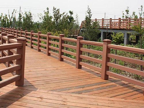 塑木栏杆生产厂家-西安塑木栏杆报价-西安塑木栏杆多少钱