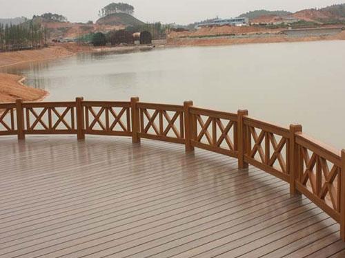 塑木栏杆定制-西安塑木栏杆价格-西安塑木栏杆报价