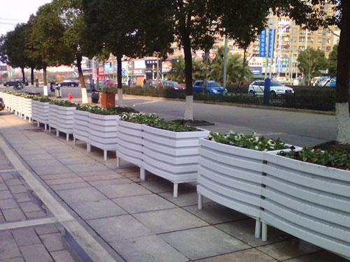 西安不锈钢花箱价格-渭南立体组合花箱生产厂家
