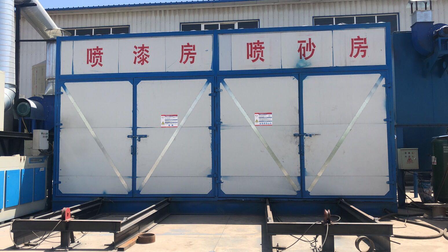 寧夏大型設備噴砂除銹——創立偉機電設備
