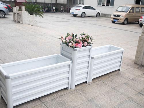 陕西铝合金花箱批发-铜川隔离带花箱报价-铜川隔离带花箱多少钱