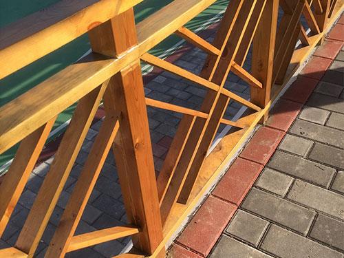 陕西防腐木栅栏生产厂家-防腐木栅栏多少钱-陕西防腐木栅栏制作