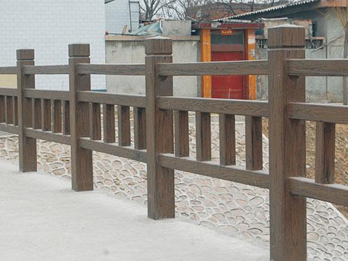 西安仿木护栏多少钱-榆林仿木护栏厂家-榆林仿木护栏生产厂家