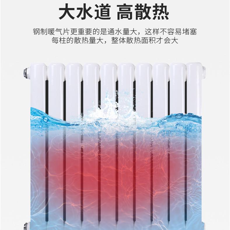 衡水优良甘肃钢制暖气片推荐,河南钢制云梯散热器