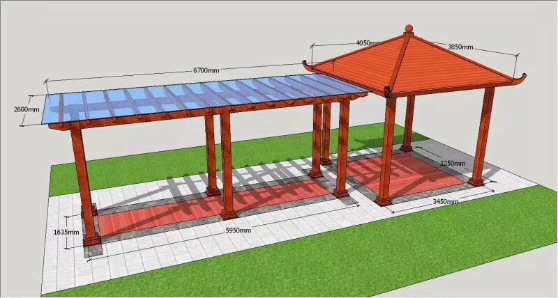 四川中式铝艺凉亭|在哪能买到有品质的铝艺凉亭