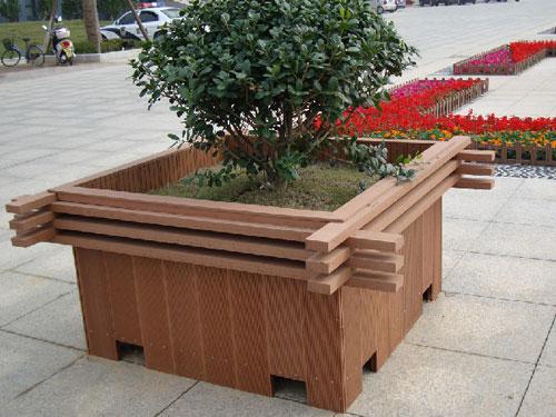 立体组合花盆批发-延安塑木组合花盆多少钱