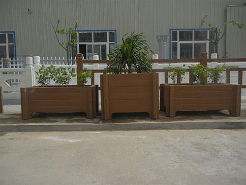 西安仿木花盆批发-西安水泥花盆生产厂家-西安水泥花盆制作