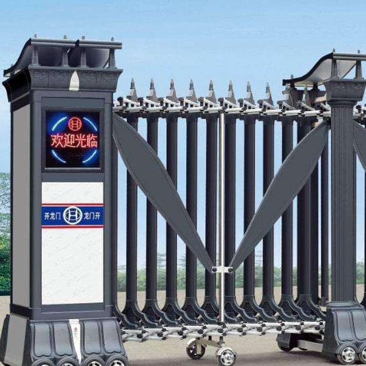 重慶機場懸浮門-大量出售山東質量好的工地電動伸縮門