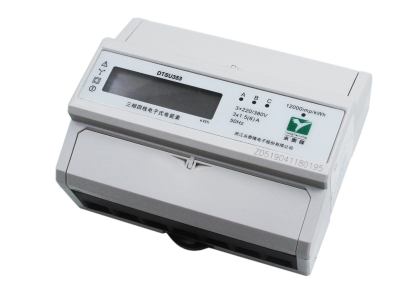 三相七节LCD互感式带RS485电能表