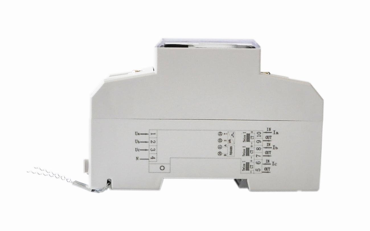 三相四线导轨式多费率电子智能电力仪表带RS485通讯