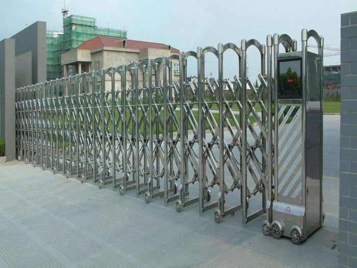 自动收缩门定做-快速伸缩门批发-快速伸缩门生产